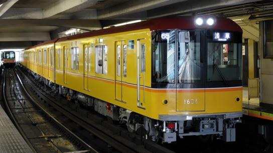 東京メトロ銀座線・1000系